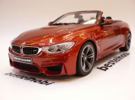 BMW M4 CABRIOLET F83 ORANGE METALLIC GT SPIRIT 1