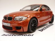 BMW SERIE 1M COUPE E82 BLACK RIMS GT SPIRIT 1
