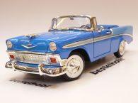 CHEVROLET BELAIR 1956 CABRIOLET BLUE 1