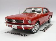 1:18 WELLY FORD MUSTANG 1964 KIRMIZI
