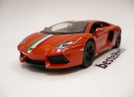 LAMBORGHINI AVENTADOR LP700-4 ORANGE ITALIAN STRIPE 1