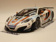 MC LAREN MP4 12C GT3 MACAU 2012 TRUE SCALE 1