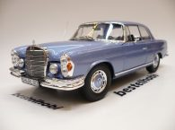 MERCEDES 280SE COUPE 1969 W108 LIGHT BLUE METALLIC NOREV 1