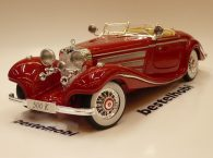 MERCEDES 500K SPECIALROADSTER 1936 RED MAISTO 1