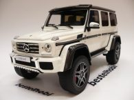 MERCEDES G500 4X4 WHITE LIMITED EDITION GT SPIRIT 1