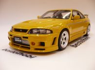 NISSAN SKYLINE R33 NISMO 400R YELLOW OTTO MODEL 1