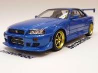 NISSAN SKYLINE R34 1999 BLUE GREENLIGHT 1
