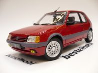 PEUGEOT 205 1.6 GTI VALLELUNGA RED 1988 NOREV 1