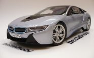 BMW İ8 IONIC SILVER BLUE PARAGON MODEL 1