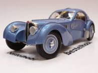 BUGATTI TYPE 57SC ATLANTIC 1938 BLUE SOLIDO 1