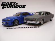 CHEVROLET VE NISSAN 2Lİ SET FAST AND THE FURIOUS 1