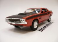 DODGE CHALLENGER 1970 TURUNCU WELLY 1