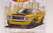 FORD MUSTANG BOSS 302 1969 HOTWHEELS 1