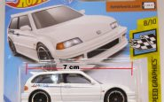 HONDA CIVIC EF 1990 HOTWHEELS 2