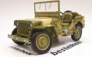 JEEP WILLYS MEDICAL US ARMY AUTOWORLD 1
