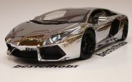 LAMBORGHINI AVENTADOR LP700-4 CHROME EDITION FX MODEL 1