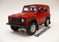 LAND ROVER DEFENDER 90 KIRMIZI WELLY 1