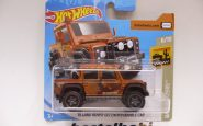 LAND ROVER DEFENDER DOUBLE CAB TURUNCU HOTWHEELS 1