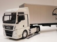 MAN TGX 18.440 KAPALI DORSELİ TIR BEYAZ WELLY 1