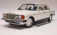 MERCEDES 230E W123 1975 WHITE KK SCALE 1