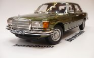 MERCEDES 450 SEL 6.9 1976 W116 GREEN METALLIC NOREV 1