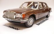 MERCEDES 450 SEL 6.9 1976 W116 METALLIC BROWN DEALER EDITION NOREV 1