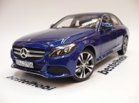 MERCEDES BENZ C CLASS AVANTGARDE W205 BLUE METALLIC NOREV 1