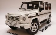 MERCEDES G MODEL V8 BEYAZ AUTOART 1