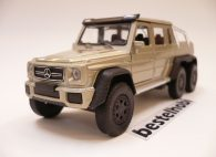 MERCEDES G63 AMG 6x6 GRİ WELLY 1