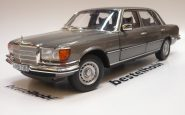 MERCEDES S CLASS 450SEL 6.9 W116 1976 ANTHRACITE GREY NOREV 1