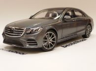 MERCEDES S KLASSE SELENITE GREY METALLIC NOREV 1