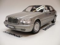 MERCEDES S600 W140 PEARL LIGHT GREY NOREV HQ SERIES 1