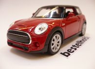MINI COOPER NEW HATCH KIRMIZI WELLY 1