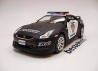 NISSAN GTR R35 POLICE 911 KINSMART 1