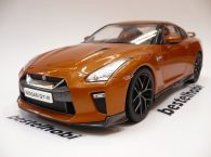 NISSAN SKYLINE GTR 2017 ORANGE TRIPLE 9 COLLECTION 1