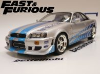 NISSAN SKYLINE R34 FAST AND THE FURIOUS 1