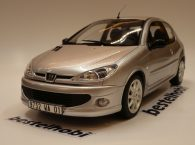PEUGEOT 206 GT SILVER OTTO MODEL 1