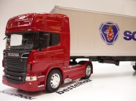 SCANIA R730 V8 KAPALI DORSELİ TIR WELLY 1