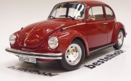 VOLKSWAGEN BEETLE 1303 1973 METALLIC RED NOREV 1