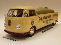 VOLKSWAGEN T1 LONG PICK UP BUNKER SCHUCO WITH CAR 1